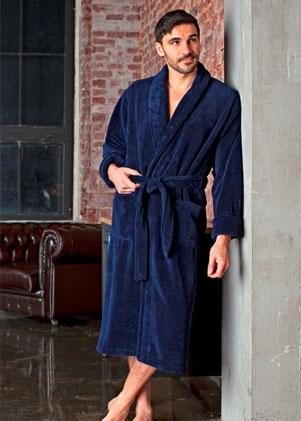 Мужские бамбуковые халаты  Бамбуковый халат серии Premium