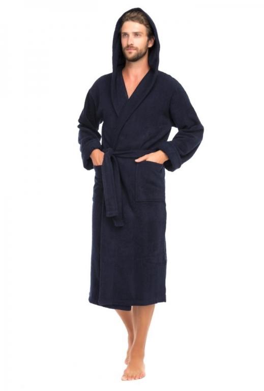 Мужские махровые халаты С капюшоном серии Casual