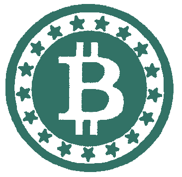 Рисунок для вышивки Bitcoin