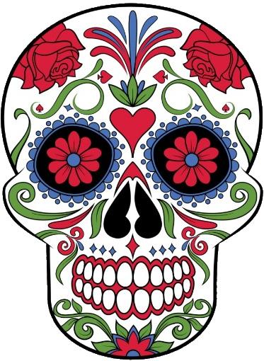 Рисунок для вышивки Sugar-skull