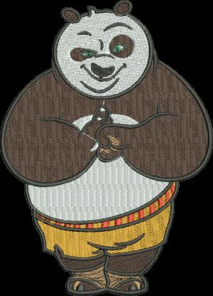 Рисунок для вышивки Кунг-фу панда 2